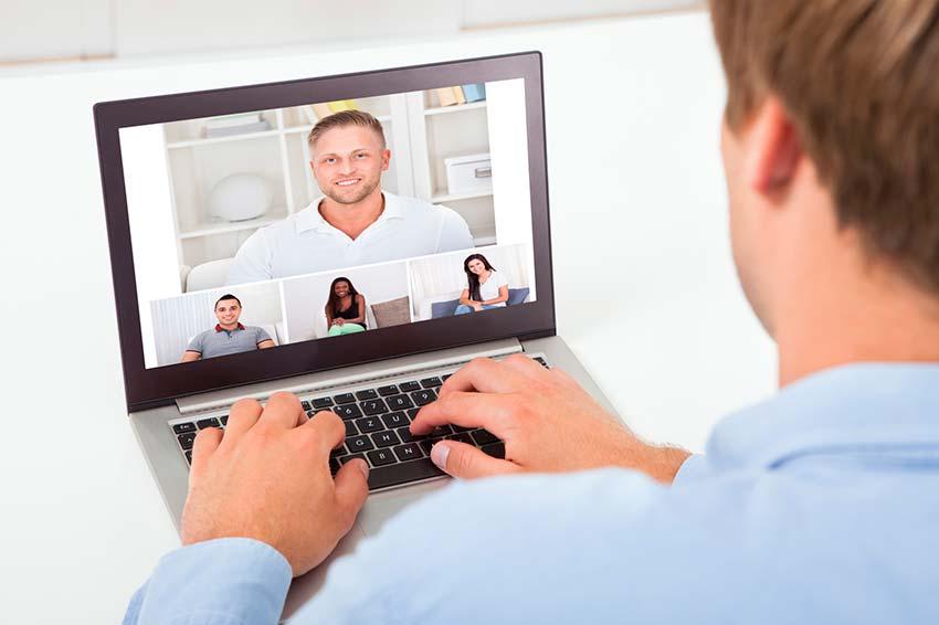 Deutsch Grammatik lernen im virtuellen Klassenzimmer