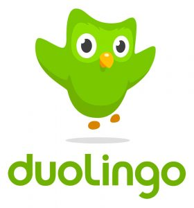 Lernen Sprache mit Duolingo